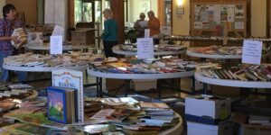 Volunteers at Book Sale