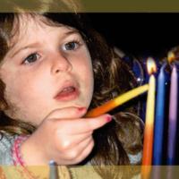 ojcf girl lighting candles