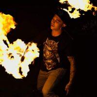 lag b'omer fire dancer